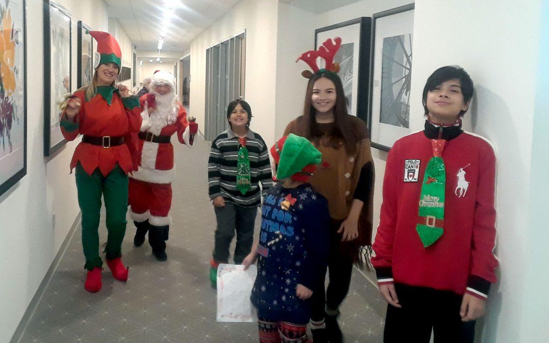 Christmas Time Santa Visit